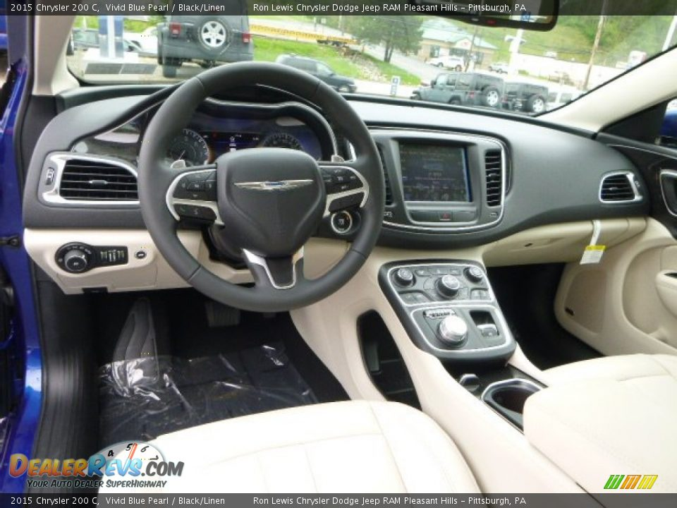 black linen interior 2015 chrysler 200 c photo 16. Black Bedroom Furniture Sets. Home Design Ideas