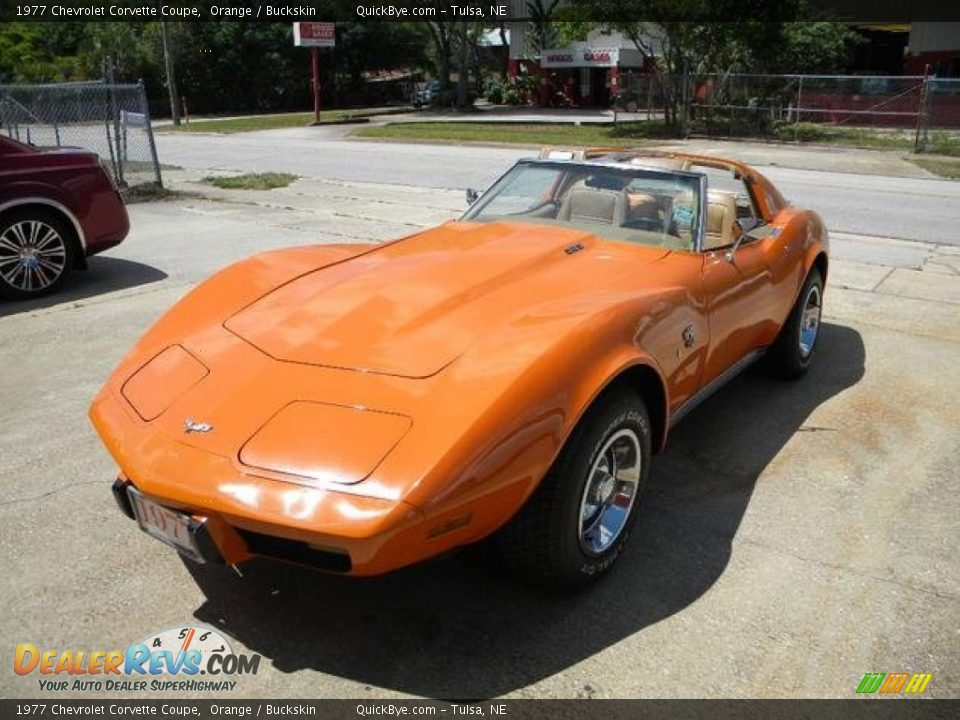 Front 3/4 View of 1977 Chevrolet Corvette Coupe Photo #6