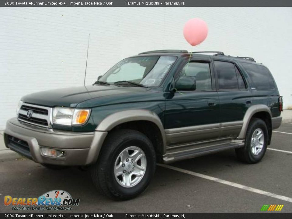 2000 Toyota 4runner Limited 4x4 Imperial Jade Mica Oak