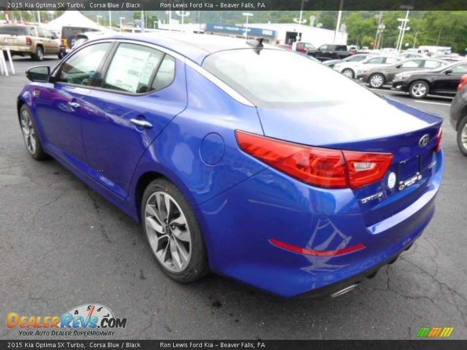 Used Kia Optima >> 2015 Kia Optima SX Turbo Corsa Blue / Black Photo #6 ...