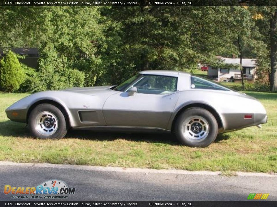 1978 Chevrolet Corvette Anniversary Edition Coupe Silver Anniversary / Oyster Photo #1