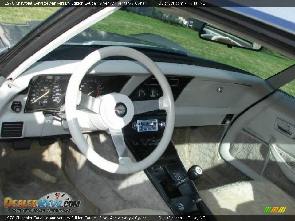 Dashboard of 1978 Chevrolet Corvette Anniversary Edition Coupe Photo #3