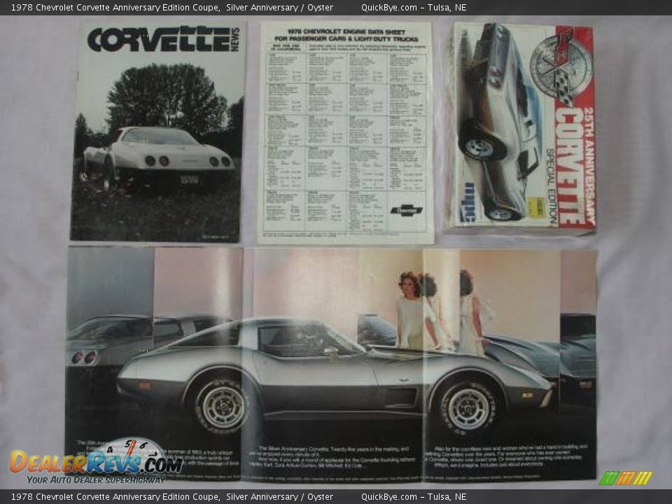 Books/Manuals of 1978 Chevrolet Corvette Anniversary Edition Coupe Photo #8