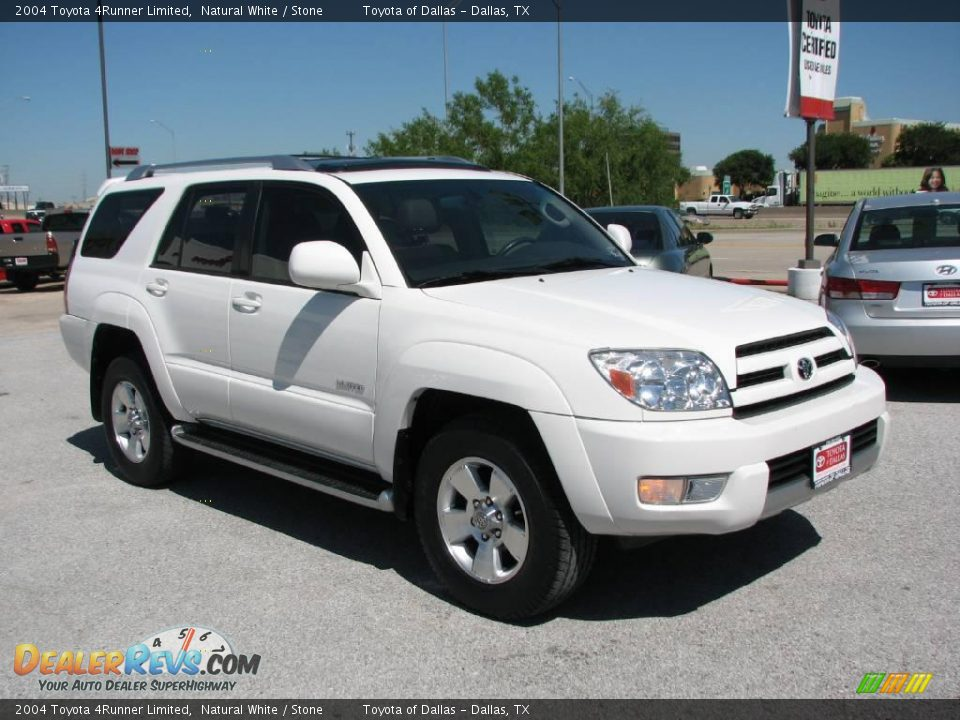 2004 toyota 4runner limited natural white stone photo 4. Black Bedroom Furniture Sets. Home Design Ideas