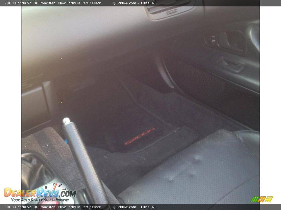 2000 Honda S2000 Roadster New Formula Red / Black Photo #7
