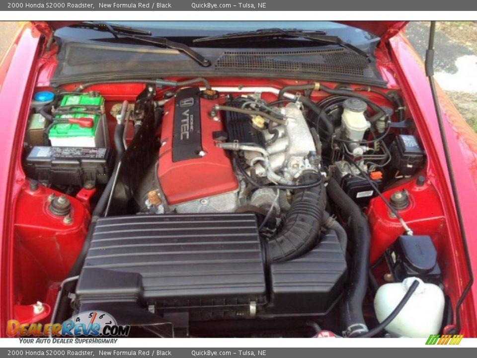 2000 Honda S2000 Roadster 2.0 Liter DOHC 16-Valve VTEC 4 Cylinder Engine Photo #10