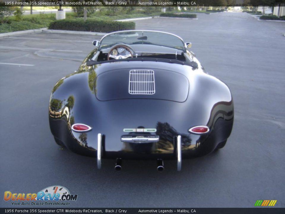 1956 Porsche 356 Speedster Gtr Widebody Recreation Black Grey Photo 4 Dealerrevs Com