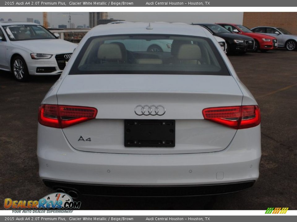 2015 Audi A4 2 0t Premium Plus Glacier White Metallic