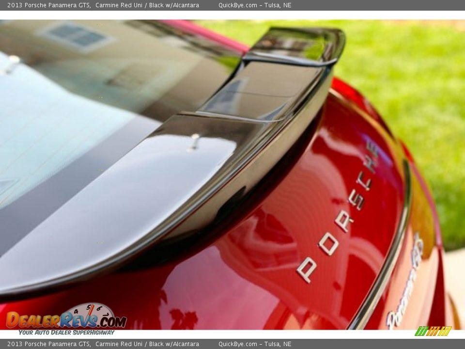 2013 Porsche Panamera GTS Carmine Red Uni / Black w/Alcantara Photo #13