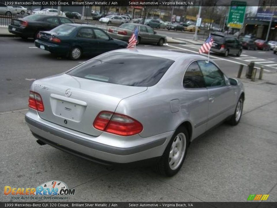 1999 mercedes benz clk 320 coupe brilliant silver metallic ash photo 3. Black Bedroom Furniture Sets. Home Design Ideas