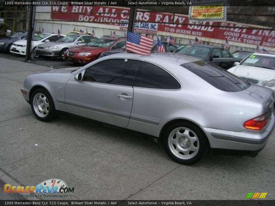 1999 mercedes benz clk 320 coupe brilliant silver metallic ash photo 7. Black Bedroom Furniture Sets. Home Design Ideas