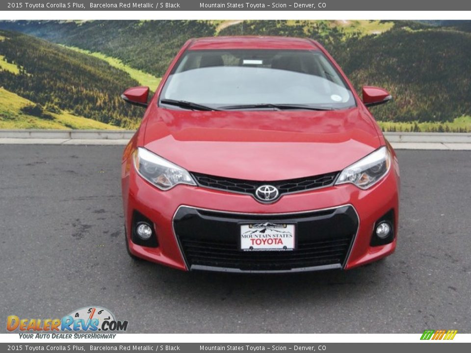 2015 Toyota Corolla S Plus Barcelona Red Metallic S