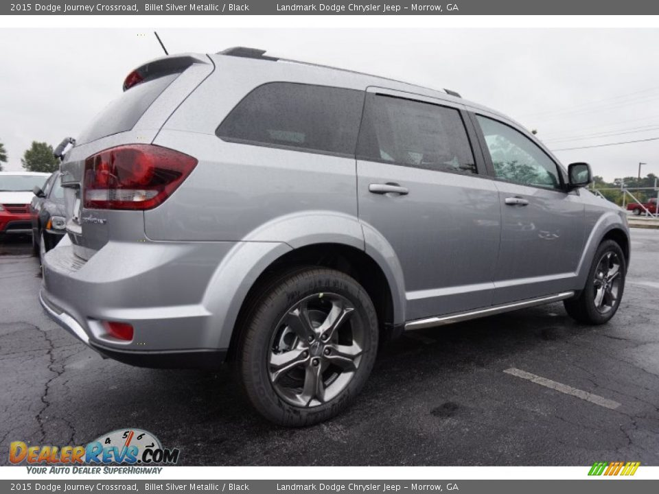 2015 dodge journey crossroad billet silver metallic black photo 3. Black Bedroom Furniture Sets. Home Design Ideas
