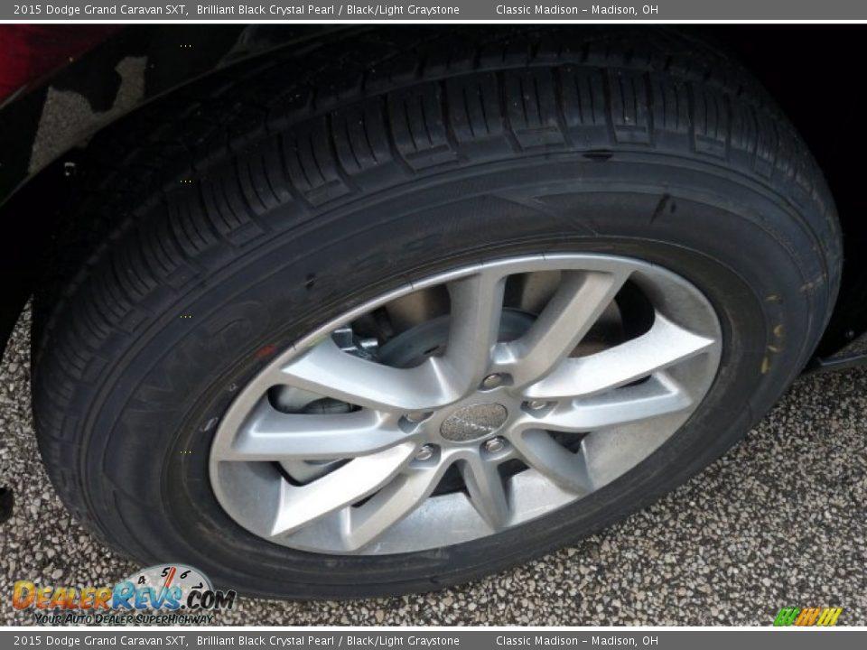 2015 Dodge Grand Caravan Sxt >> 2015 Dodge Grand Caravan SXT Brilliant Black Crystal Pearl / Black/Light Graystone Photo #3 ...