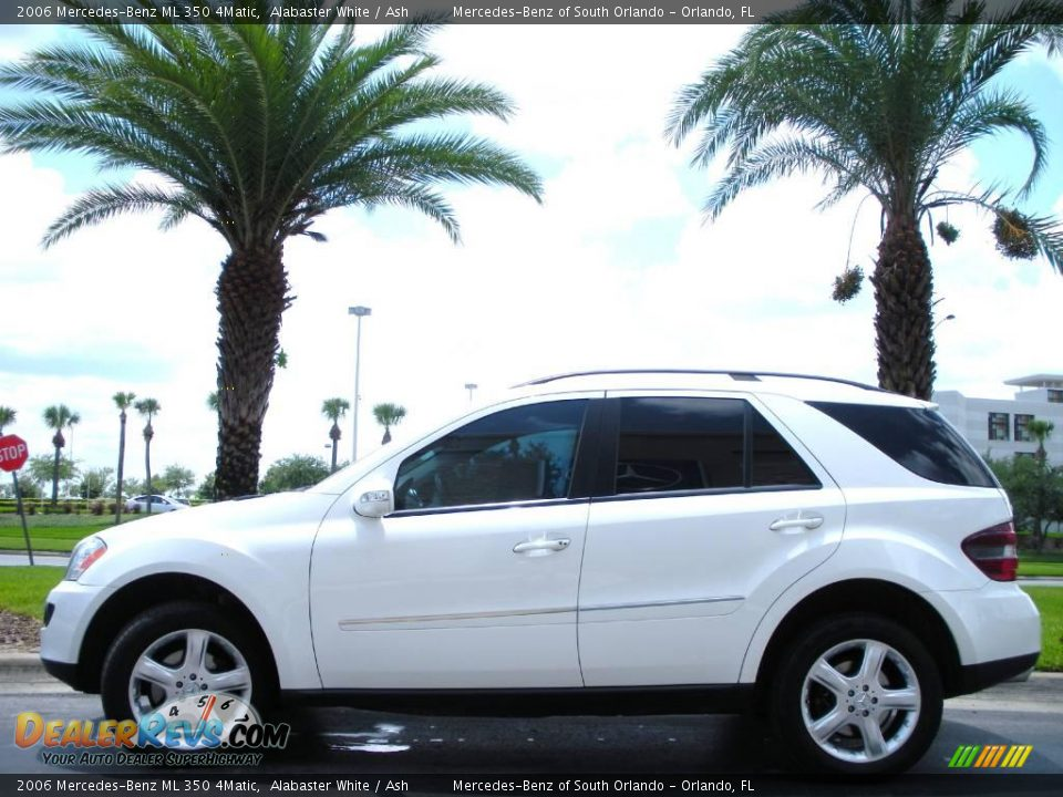 2006 mercedes benz ml 350 4matic alabaster white ash for Mercedes benz ml350 4matic 2006