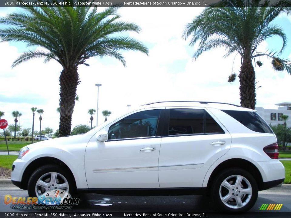 2006 mercedes benz ml 350 4matic alabaster white ash for Mercedes benz ml 350 2006
