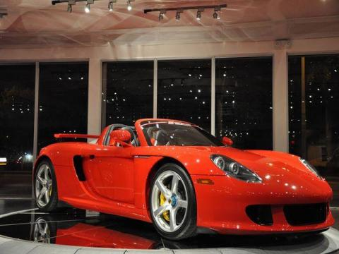 Porsche Carrera Gt Interior. 2005 Porsche Carrera GT