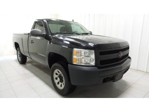 Chevrolet Silverado 1500 Work Truck Regular Cab 4x4