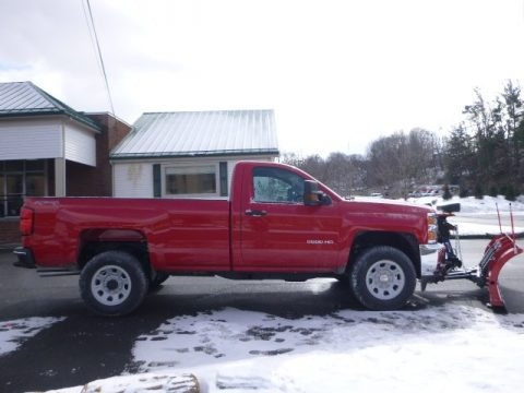 Chevrolet Silverado 3500HD WT Regular Cab 4x4 Plow Truck