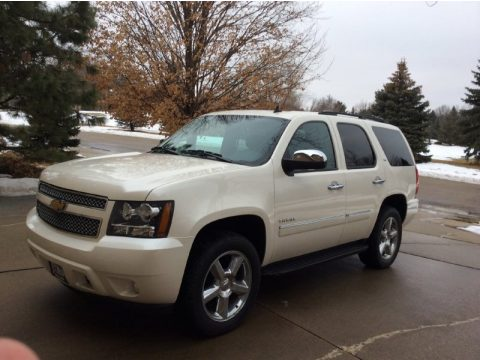 White Diamond Tricoat Chevrolet Tahoe LTZ 4x4.  Click to enlarge.