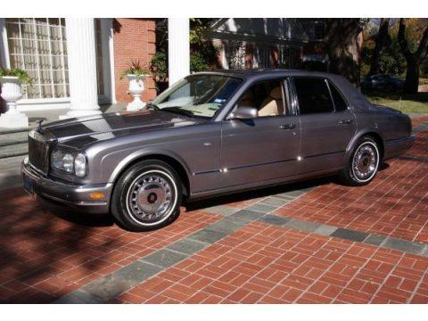 Dark Silver Rolls-Royce Silver Seraph .  Click to enlarge.