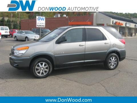 Light Driftwood 2002 Buick Rendezvous CX with Dark Gray interior Light