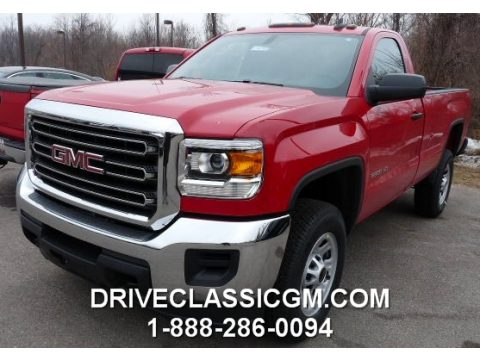 GMC Sierra 2500HD Regular Cab 4x4