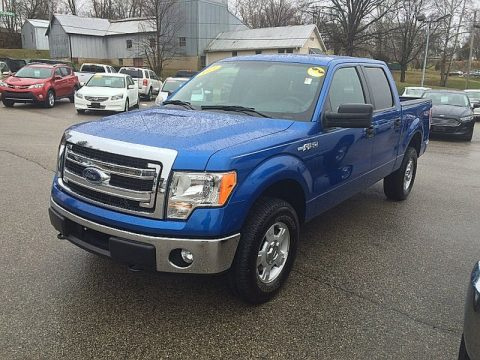Used 2013 ford f150 xlt supercrew 4x4 for sale stock for Bureau of motor vehicles bloomington indiana