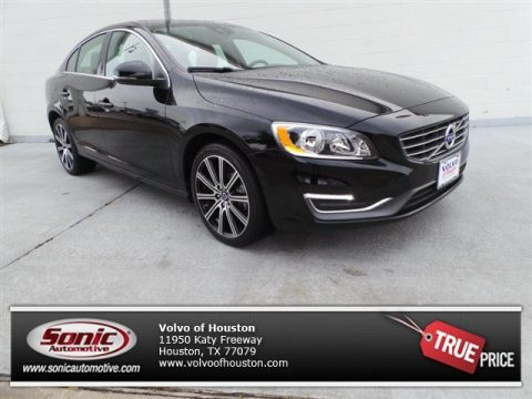 Black Stone Volvo S60 T5 AWD.  Click to enlarge.