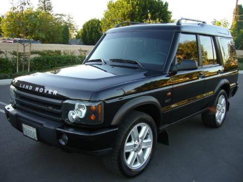 Java Black 2003 Land Rover Discovery SE7 with Black interior Java Black Land