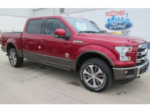 New 2015 Ford F150 King Ranch Supercrew 4x4 For Sale Stock 591450