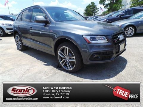 Daytona Gray Metallic Audi SQ5 Premium Plus 3.0 TFSI quattro.  Click to enlarge.
