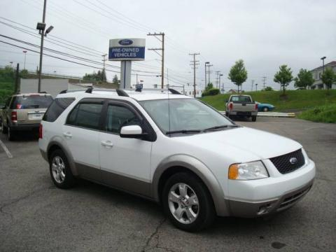 Oxford White 2007 Ford Freestyle SEL AWD with Shale Grey interior Oxford