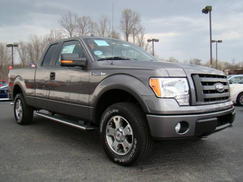new 2009 ford f150 fx4 supercab 4x4 for sale stock. Black Bedroom Furniture Sets. Home Design Ideas