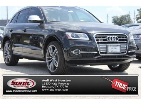 Brilliant Black Audi SQ5 Premium Plus 3.0 TFSI quattro.  Click to enlarge.