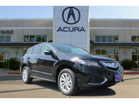 Crystal Black Pearl Acura RDX Technology.  Click to enlarge.