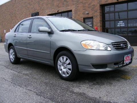 Toyota Corolla 2003 Le. 2003 Toyota Corolla LE