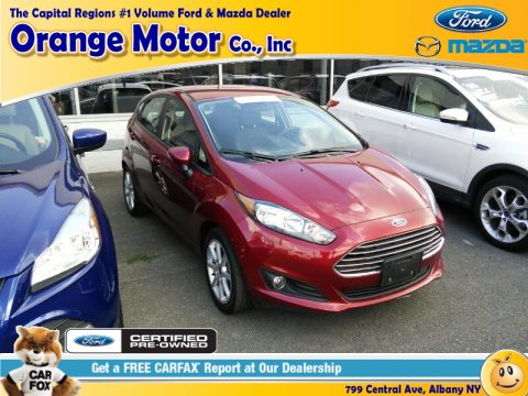 Used 2015 Ford Fiesta Se Hatchback For Sale Stock