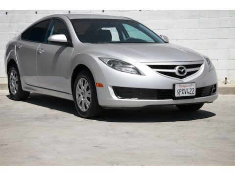 Ingot Silver Mazda MAZDA6 i Sport Sedan.  Click to enlarge.