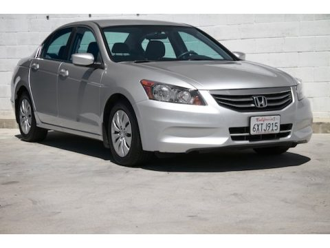 Alabaster Silver Metallic Honda Accord LX Sedan.  Click to enlarge.
