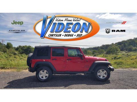 Jeep Wrangler Unlimited Sport 4x4