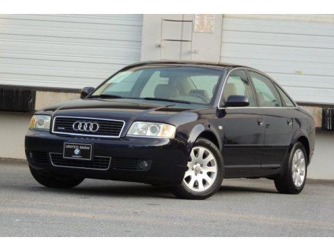 used 2002 audi a6 3 0 quattro sedan for sale stock 024950 dealer car ad. Black Bedroom Furniture Sets. Home Design Ideas