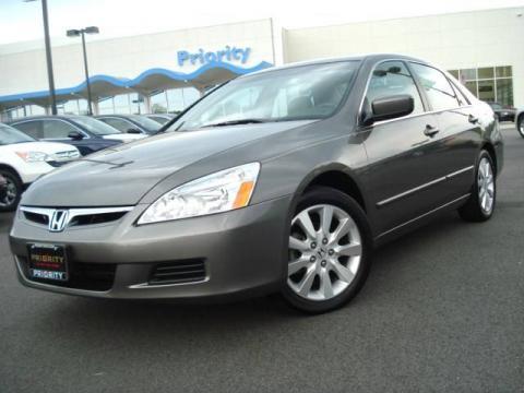 used 2007 honda accord ex l v6 sedan for sale stock 9h08231 dealer car ad. Black Bedroom Furniture Sets. Home Design Ideas