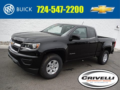 Chevrolet Colorado WT Extended Cab 4x4