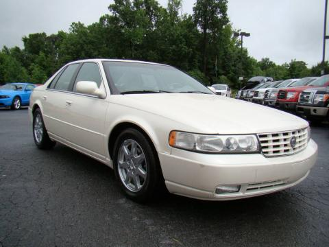2001 Cadillac STS white