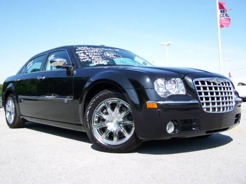 Brilliant Black 2009 Chrysler 300 C HEMI Walter P. Chrysler Executive Series