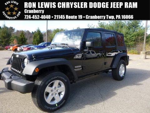 new 2016 jeep wrangler unlimited sport 4x4 for sale stock q6339 dealer car. Black Bedroom Furniture Sets. Home Design Ideas
