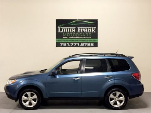 Newport Blue Pearl Subaru Forester 2.5 XT Limited.  Click to enlarge.