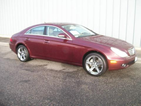 Used 2007 mercedes benz cls 550 for sale stock ctn82033 for Mccurley mercedes benz