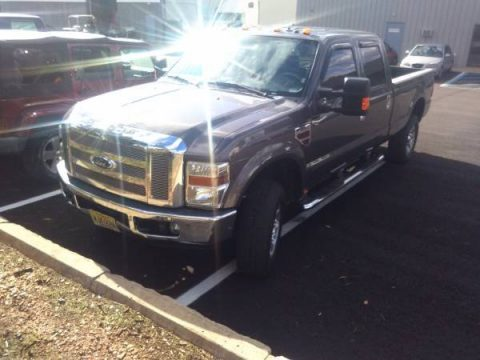 Dark Shadow Grey Metallic Ford F350 Super Duty Lariat Crew Cab 4x4.  Click to enlarge.